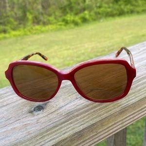 Kirkland Signature Red Tort Rx sunglasses frames